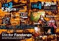 5/30(木)大阪十三Fandangoでライブ出演します!